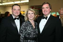 OTS/HEIDBRINK - Rene Barilleaux (accent on E in Rene, McNay chief curator), Alethea Bugg (spouse) and Bruce Bugg (Tobin Endowment chair/trustee) were at the Keys for a Cause gala on 11/6/2008 at the McNay Art Museum. This is #1 of 2 photos. names checked photo by leland a. outz