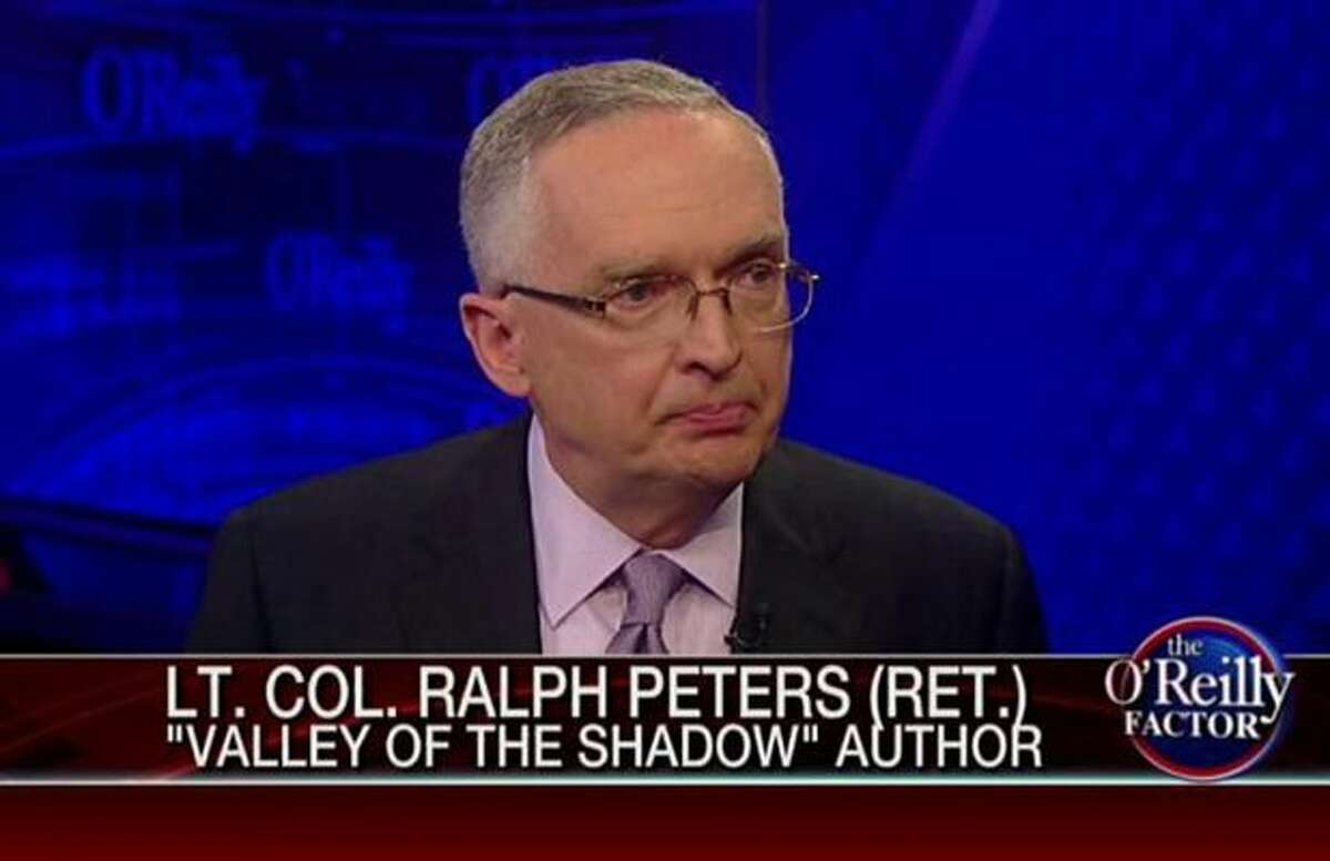 Ralph Peters spent 10 years with Fox News and Fox Business.