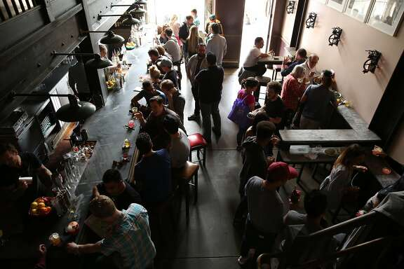 Trick Dog bar on Saturday, Sept. 16, 2017, in San Francisco, Calif. The bar is located at 3010 20th St.