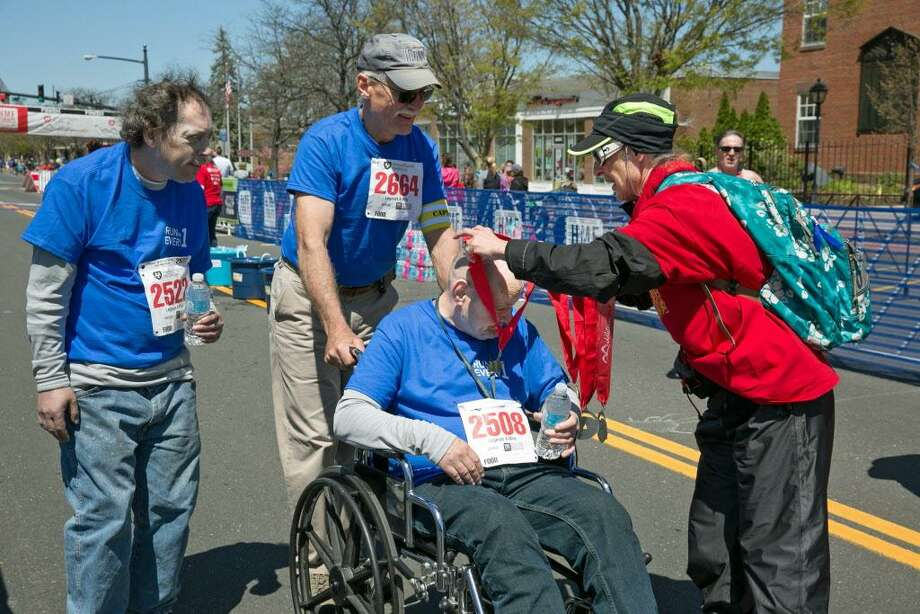 Gilead Community Services is recruiting a team of walkers, runners and cheerers to take part in the Hartford Marathon Legends 3.5-mile road race in downtown Middletown April 8. Funds raised will support the organizations mission to aid those living with mental health conditions. Gilead, which has set a $35,000 goal, hopes to encourage 500 people to join the team on the 50th anniversary of its founding. Photo: Contributed Photo