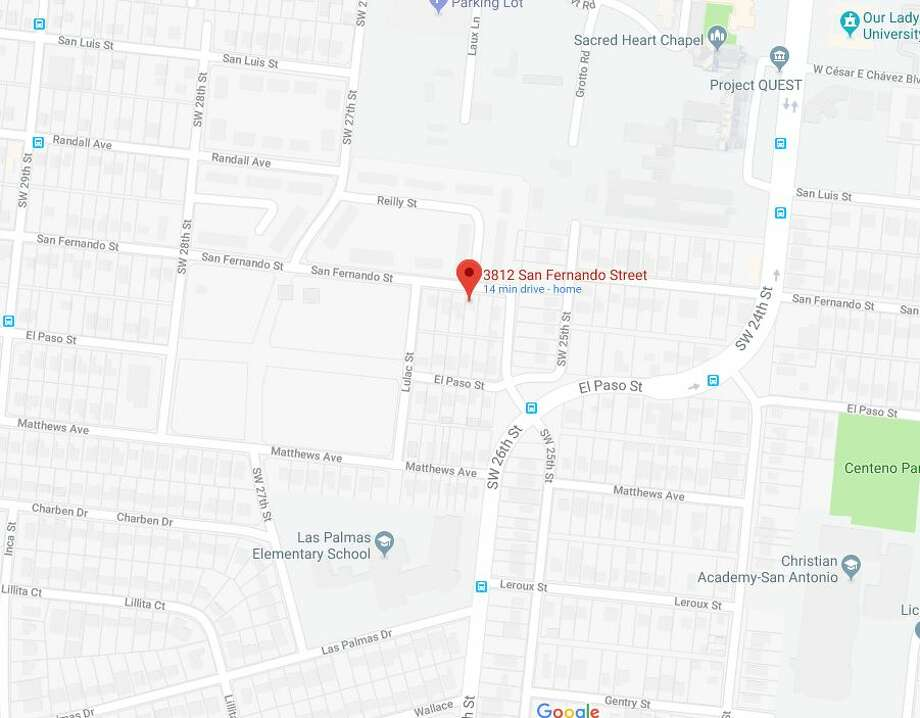 A man was found shot to death in the intersection of Southwest 26th and San Fernando streets. Photo: Google Maps
