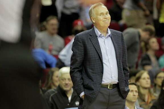 Rockets coach Mike D'Antoni doesn't agree with an official's call during a recent game, but he avoids overreacting. He says he has a better handle on dealing with the everyday stress inherent in coaching than he did in years past.