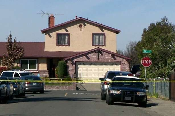 Crime scene investigators removed evidence on Monday from a house in south Sacramento, where a man was shot and killed by Sacramento police the night before.