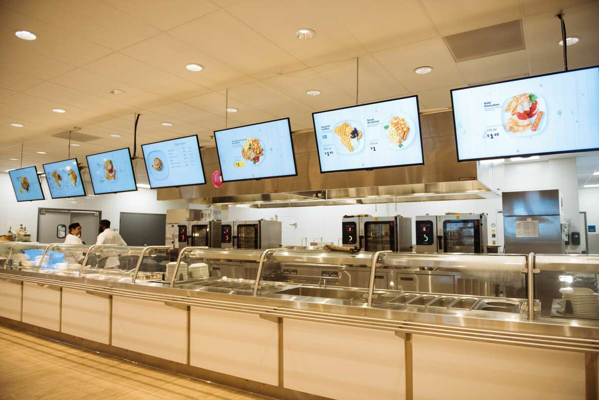 Sample shots of the interior of an IKEA store.
