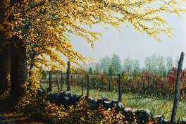 """The Kent Art Association is opening its 95th Annual Members Show on Saturday, March 24 with a Reception and Awards presentation from 2-4 p.m. Included in the show is """"Schultzville Road"""" by Michael Spross."""