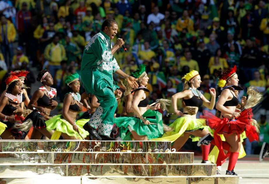 Image result for 2010 world cup opening ceremony femi kuti