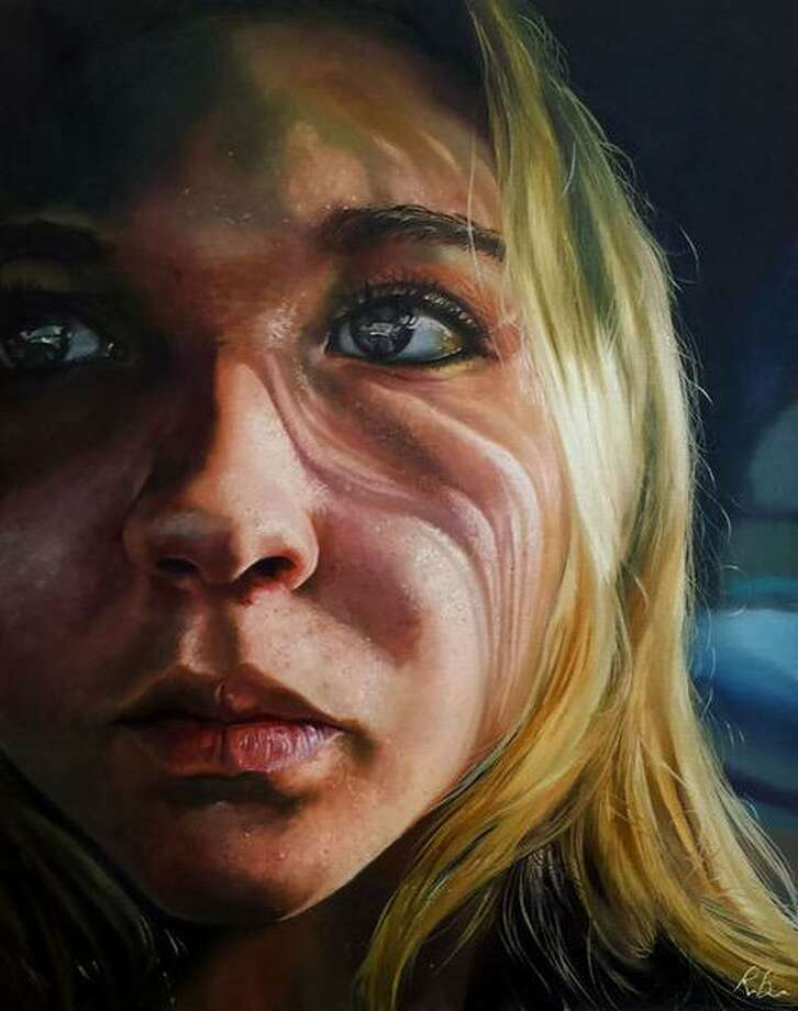 """The Washington Art Associaton's new show, """"Portraits"""" opens March 31. Above, Renee Brown, """"Self Portrait,"""" 2016, 22''x28'', Oil on canvas Photo: Photos Courtesy Of Renee Brown"""