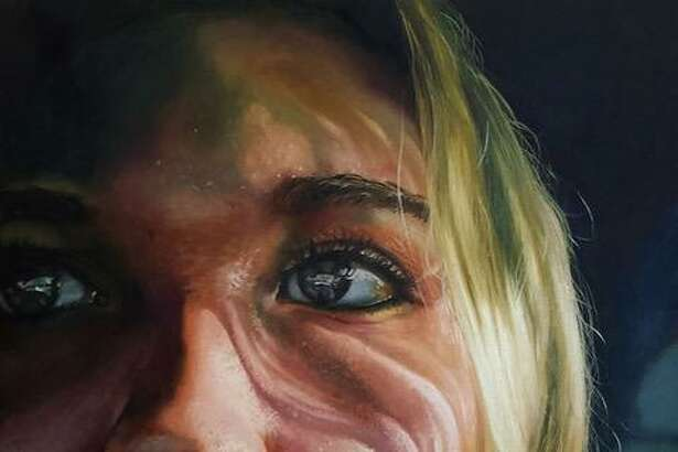 "The Washington Art Associaton's new show, ""Portraits"" opens March 31. Above, Renee Brown, ""Self Portrait,"" 2016, 22''x28'', Oil on canvas"
