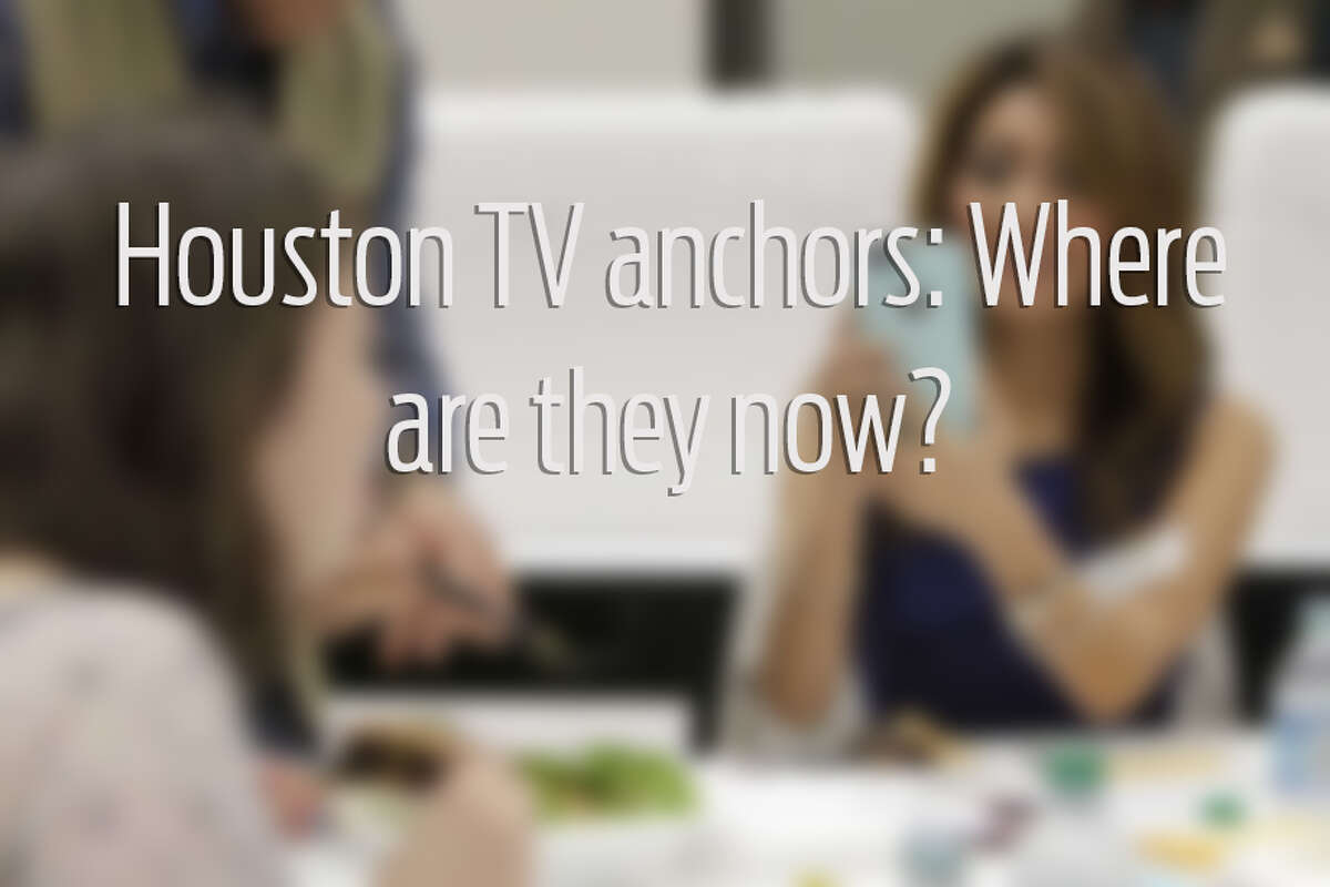 Swipe through to see a gallery of Houston TV anchors.