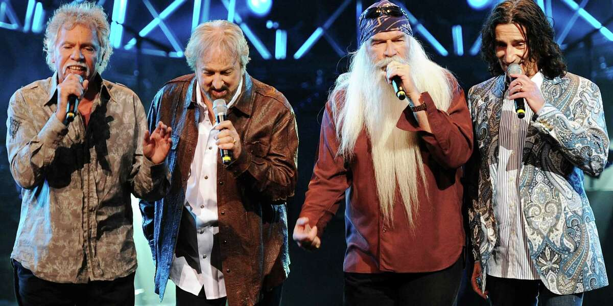 """The Oak Ridge Boys perform at """"Kenny Rogers: The First 50 Years award show"""" at the MGM Grand at Foxwoods on April 10, 2010 in Ledyard Center, Connecticut."""