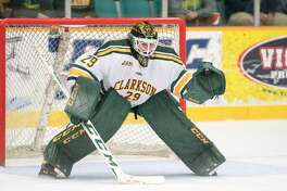 Clarkson sophomore goaltender Jake Kielly had a 1.84 goals-against average and .928 save percentage.
