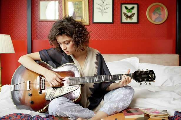 L.A.-based singer-songwriter Gaby Moreno performs at Oakland's The New Parish on March 30, 2017.