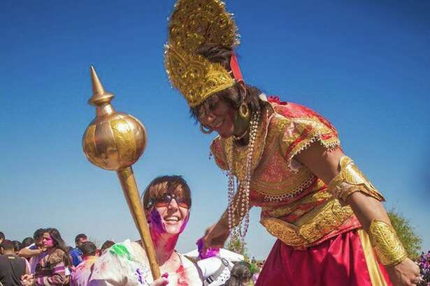 Houston Holi will take place this Saturday in Sugar Land.