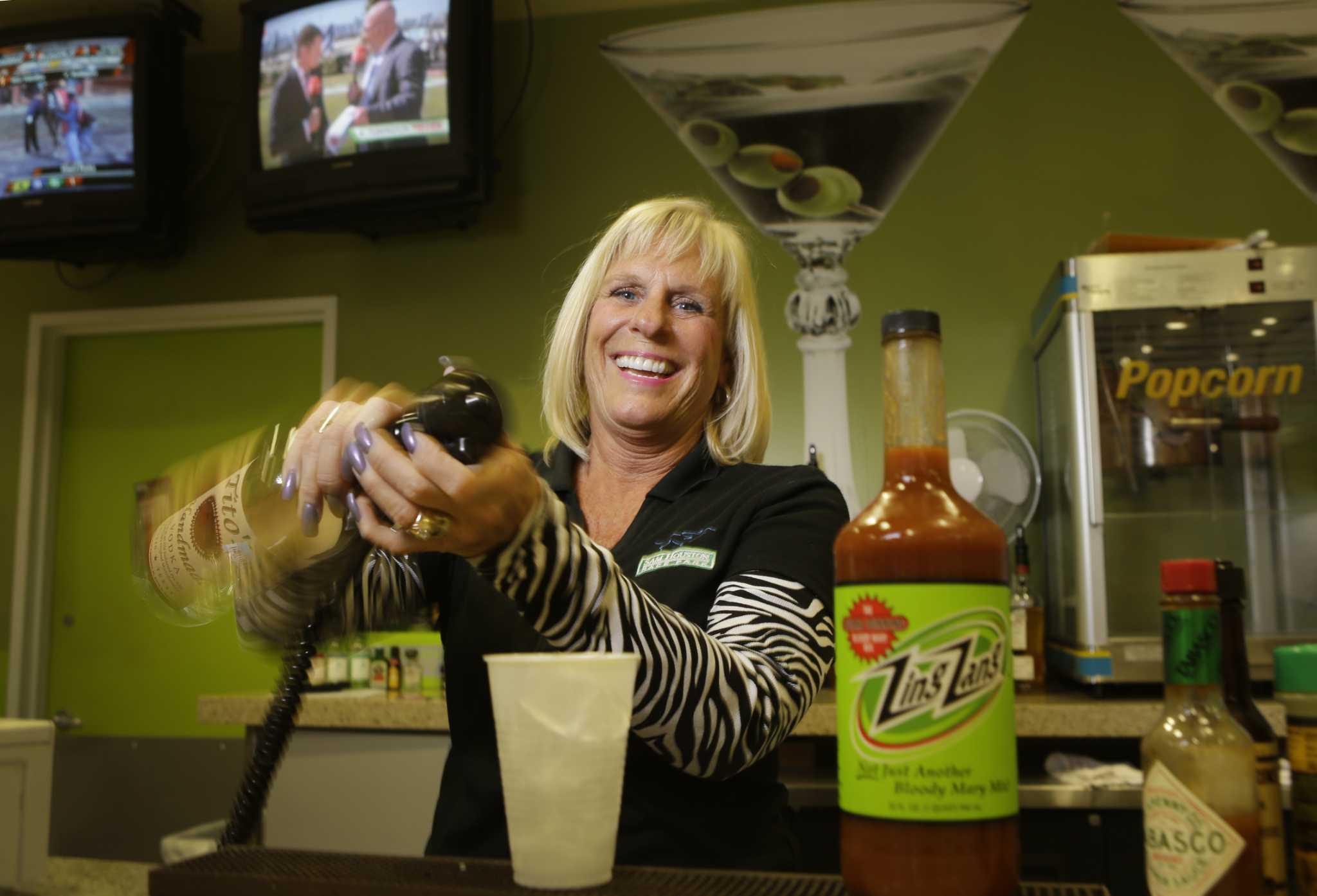 Lexus Park Place >> Bar star: Debbie Moynihan at Sam Houston Race Park ...