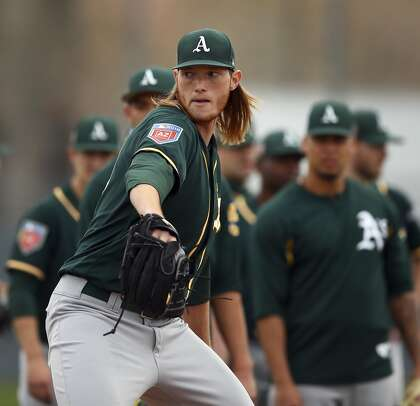 Top pitching prospect A.J. Puk to join Oakland A's on Tuesday