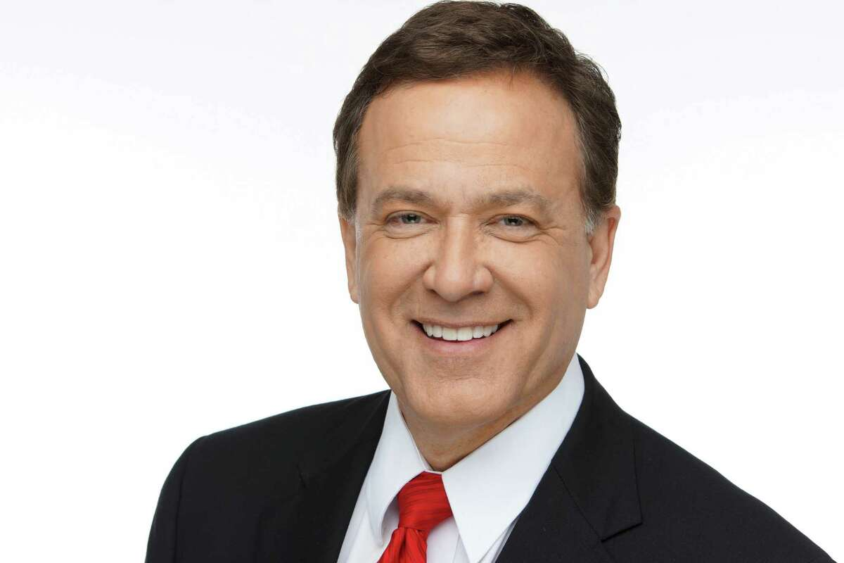 WOAI's Randy Beamer, one of San Antonio's most prominent TV news anchors. Beamer will say goodbye to his viewers and his News 4 family during his final newscast on Friday, March 5.