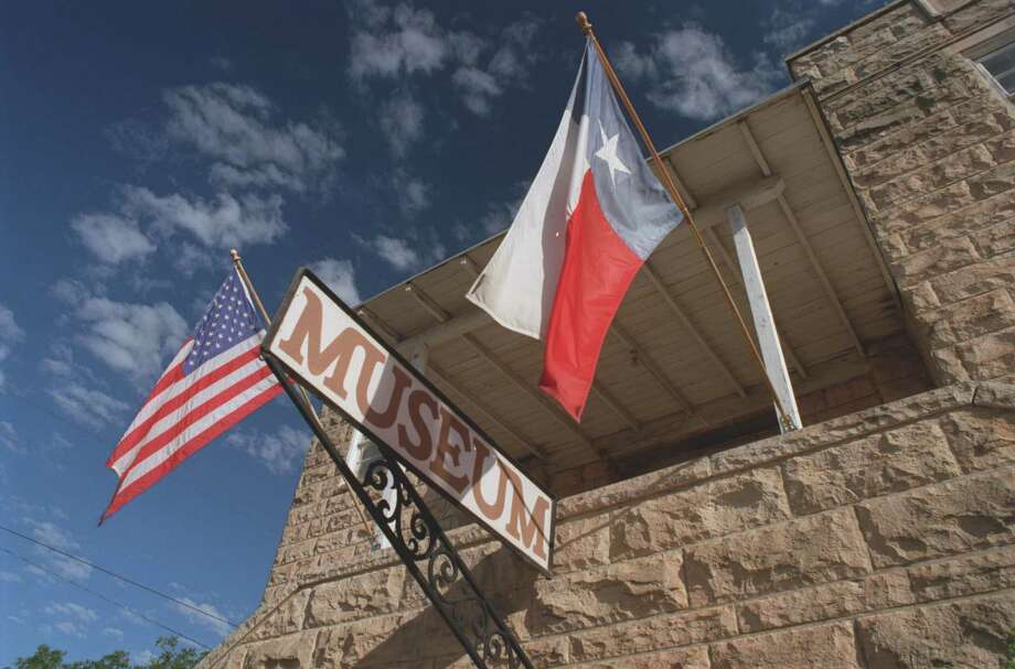 The Crockett County Museum in Ozona, Texas, is located adjacent to the county courthouse and annex.  (E. Joseph Deering/Chronicle)  Photo: E. Joseph Deering, Houston Chronicle / Houston Chronicle