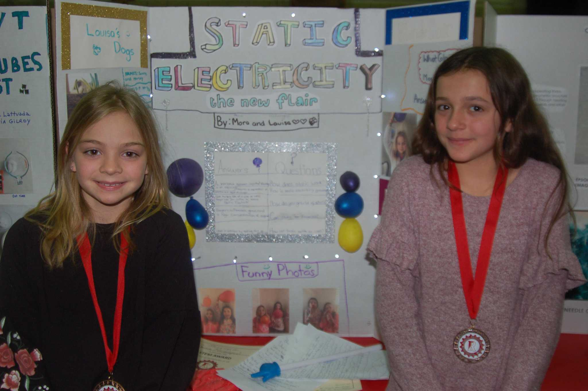 Riverside students delve into projects for STEM Fair | Greenwich Time