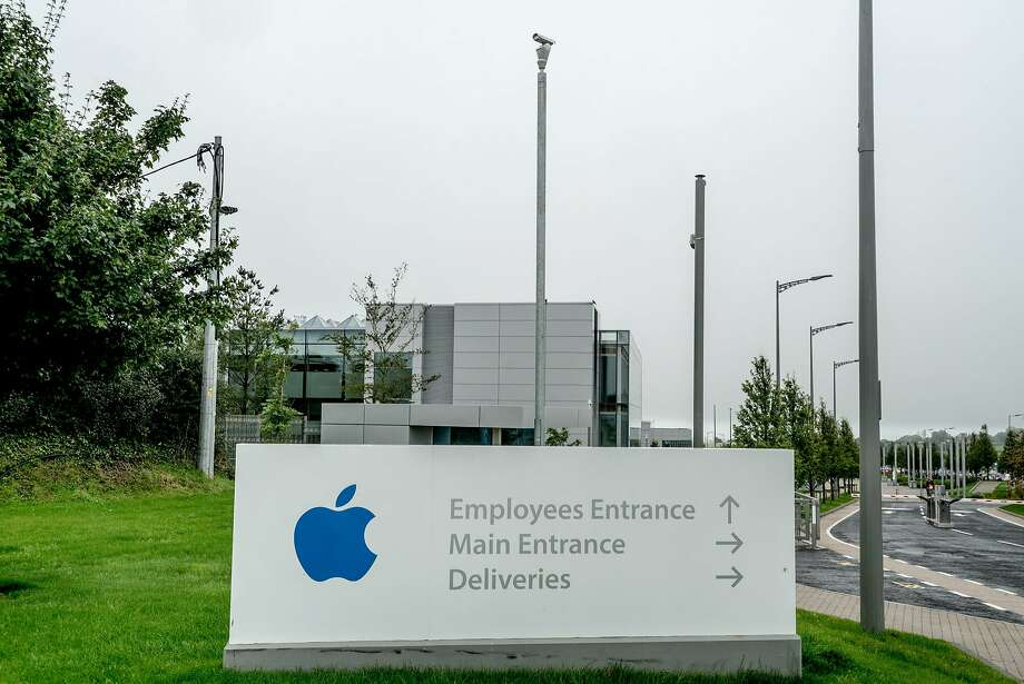 Apple's headquarters in Cork, Ireland, is among the targets of the EU taxation strategy. Photo: ANDREW TESTA, NYT