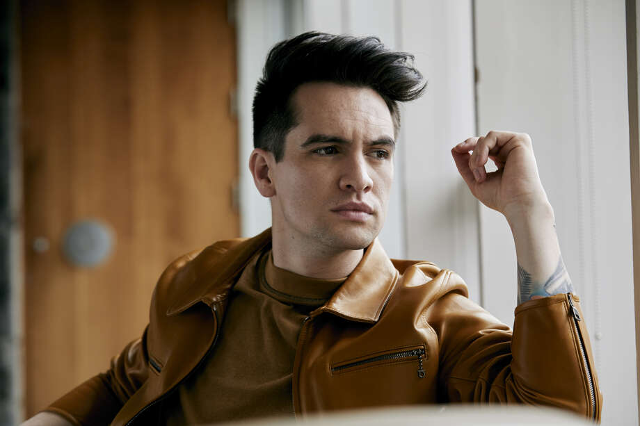 Panic! At the Disco is vocalist vocalist Brendon Urie Photo: Jimmy Fontaine