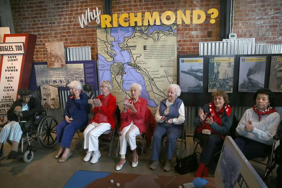 Rosie The Riveters Tell Their Historic Stories In Richmond Sfgate