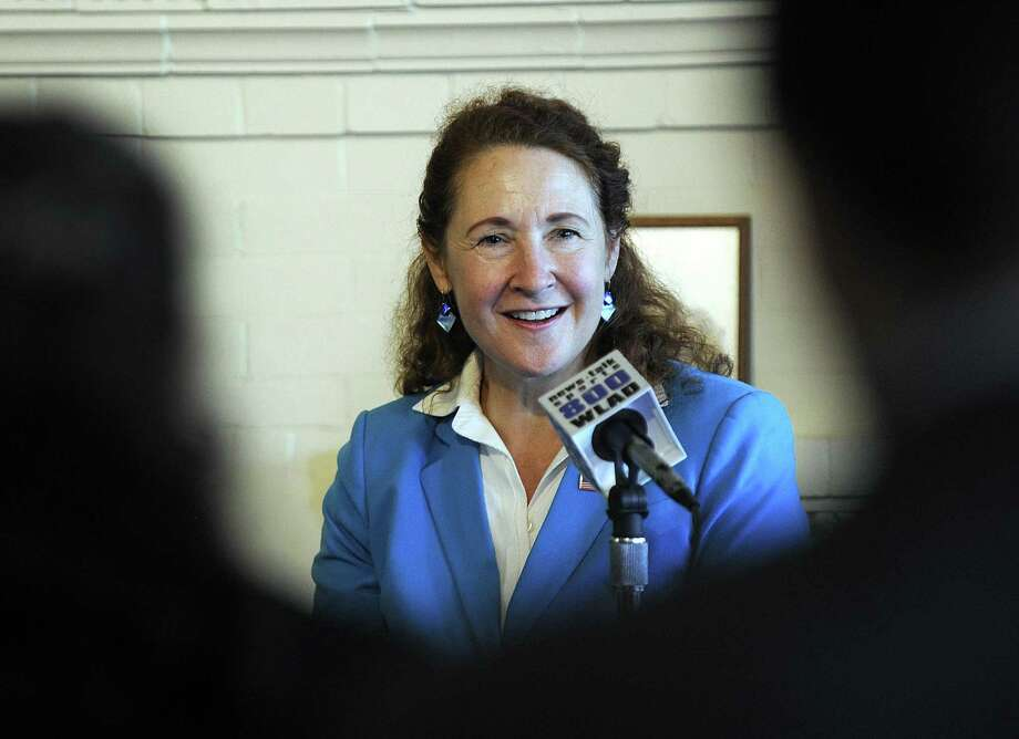 U.S. Rep. Elizabeth Esty at a meeting on transportation issues at the Danbury Railway Museum in January. Photo: Carol Kaliff / Hearst Connecticut Media / The News-Times
