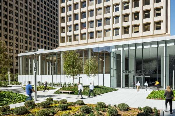 Houston's One Allen Center is under going a multi-million dollar renovation that will include a new restaurant, Guard and Grace, from the Denver-based TAG Restaurant Group.
