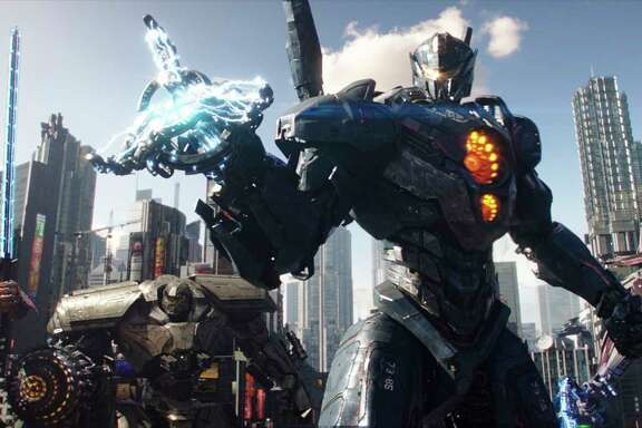 "It's an epic - or some would say mediocre - metal melee when the Jaegers once again battle the Kaiju in ""Pacific Rim Uprising."""