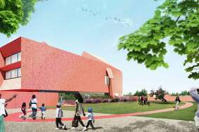 A rendering of Ruby City, the exhibition building of the Linda Pace Foundation, set for completion in late 2018.