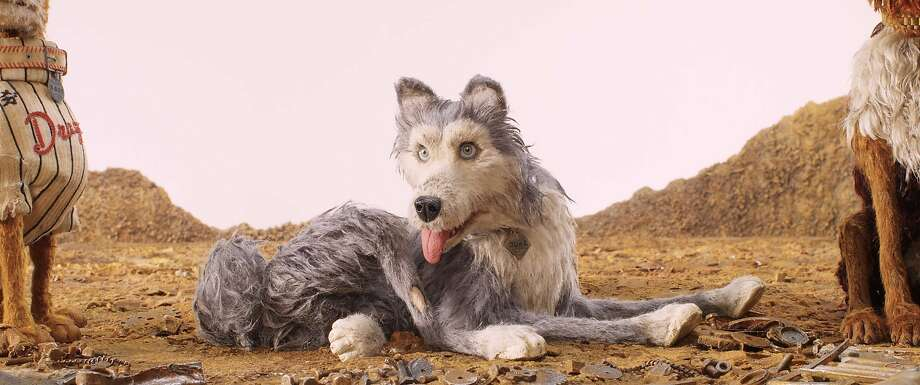 """This image released by Fox Searchlight Pictures shows the character Duke, voiced by Jeff Goldblum, in a scene from """"Isle of Dogs."""" (Fox Searchlight via AP) Photo: Associated Press"""