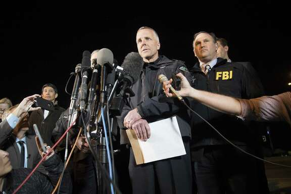 The suspect in a string of bombings in Austin is dead, interim Austin Police Chief Brian Manley confirmed early Wednesday, March 21, 2018. (Ricardo B. Braziell/Austin American Stateman/TNS)