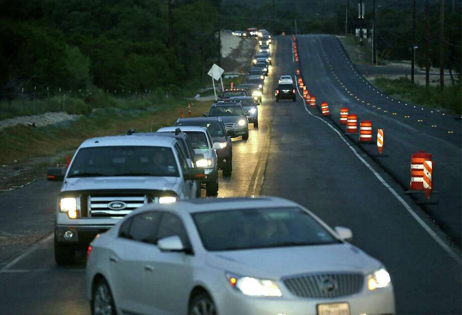 Traffic has become more congested in Comal County as the area has experienced consistent population growth since 2010. The area was ranked the second-fastest growing county in the nation, according to the U.S. Census Bureau's latest population estimates just released. Photo: Express-News File Photo / San Antonio Express-News