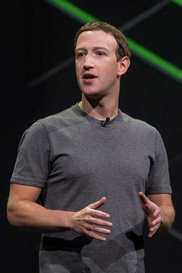 Mark Zuckerberg, chief executive officer and founder of Facebook Inc., speaks during the Oculus Connect 4 product launch event in San Jose, California, U.S., on Wednesday, Oct. 11, 2017. Facebook unveiled a cheaper virtual-reality headset that works without being tethered to a computer, rounding out its plan for pushing the emerging technology to the masses. Photographer: David Paul Morris/Bloomberg ORG XMIT: 775057750 Photo: David Paul Morris / © 2017 Bloomberg Finance LP