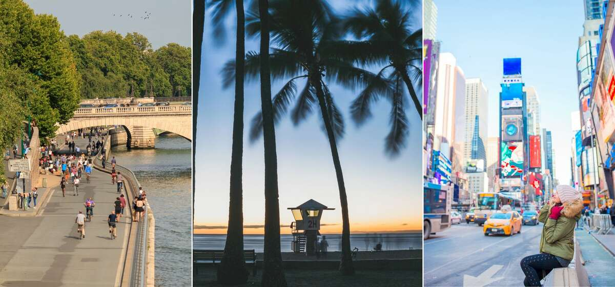 10. SFO > Paris, France10. SJC > Honolulu10. OAK > New York