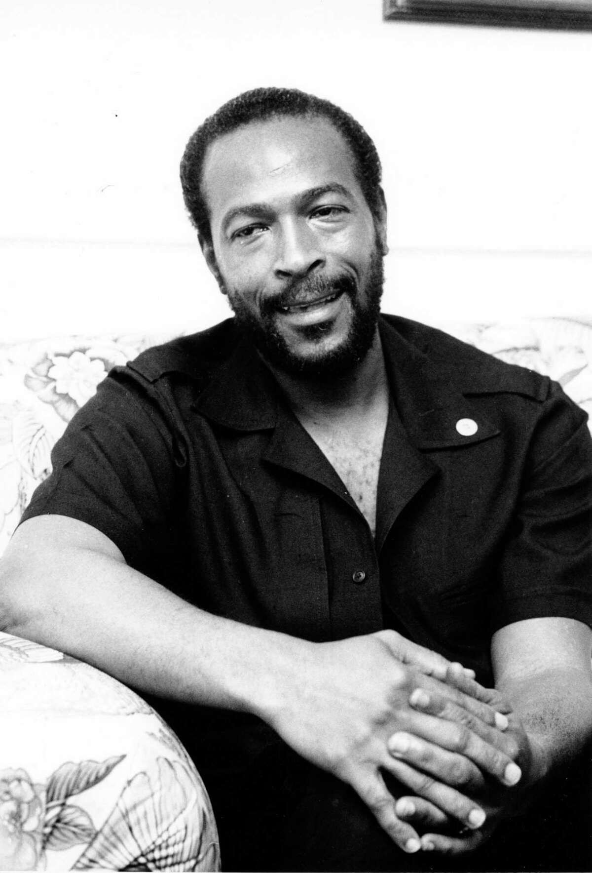 This is an undated photo of soul singer Marvin Gaye in New York City.
