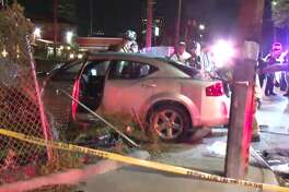 At least four people were hit by a driver in a Montrose parking lot, early Thursday March 22, 2018.