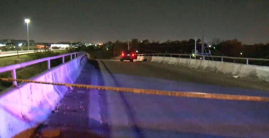 One man was killed Wednesday night, March 22, 2018 after he was hit by a car in Aldine. Photo: Metro Video