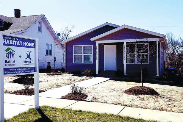 The latest house from the Ed Glen Chapter of Habitat for Humanity-Lewis and Clark Affiliate is on Highland Street in Edwardsville. New owner Paula Duane will receive the keys to the house at 9 a.m. on Saturday.