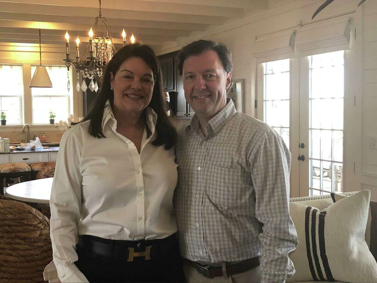 On weekends, Kimberley and Richard Rolland head to the country home they bought one year ago in Fayette County.