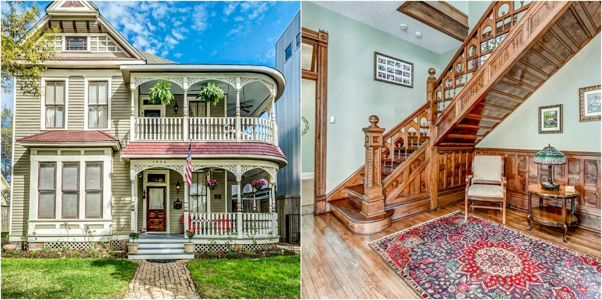 A Historic Houston home is for saleThe home at 1908 Decatur Street in Houston is on the market for $750,000.Scroll ahead to see more of the inside of the home.