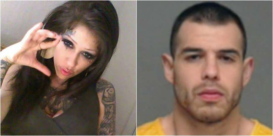 Camille Garcia was found dead in a trash bin Tuesday in north San Angelo. Andres Ramirez was arrested and charged with her murder, GoSanAngelo.com reported. Photo: Tom Green County Police/Tom Green County Jail