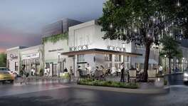 Rendering of a simpler, more modern look coming to Uptown Park