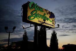 An Olive Garden location in Louisville, Kentucky, on Sept. 28, 2016.