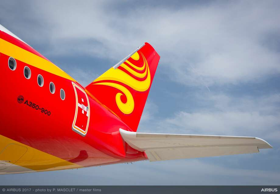 Hong Kong Airlines Airbus A350 Photo: Philippe Masclet - Master Films, Hong Kong Airlines
