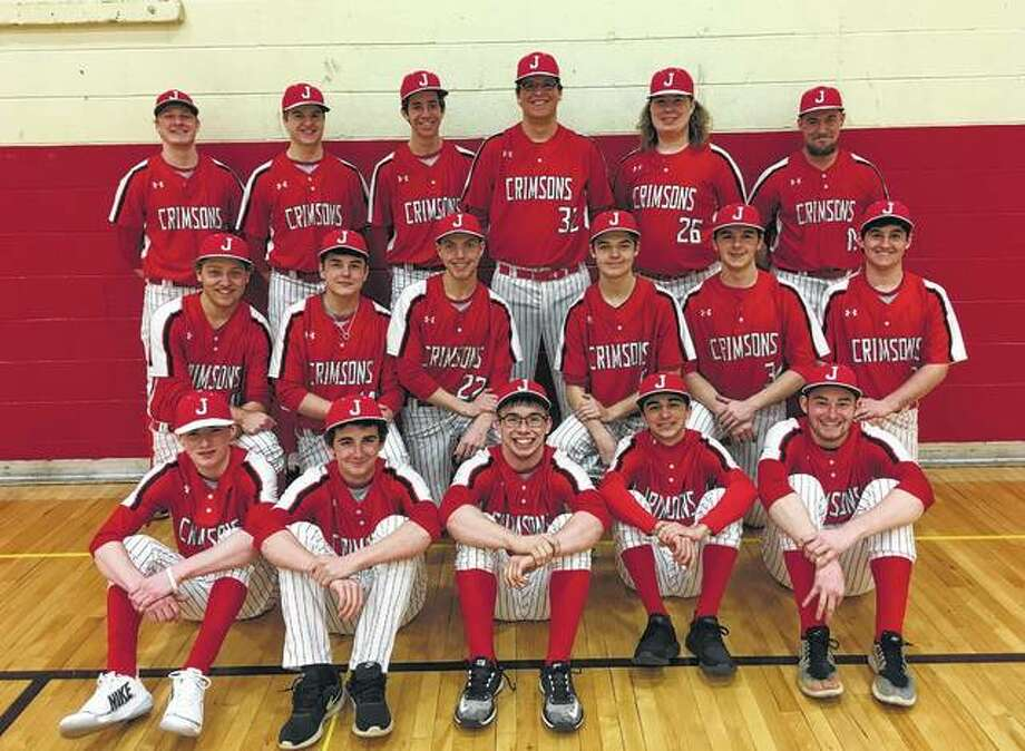 Jacksonville — First row (l-r): Ryan Maul, Cole Reif, Dalton Bartz, Trevor Huston and James Brammeier. Second row: Dawson Gibson, Rece Brackett, Jacob James, Chris Murphy, Tanner Howell and Blake Hadden. Third row: Avery Dugan, Drew Ezard, Jack Rohn, Kyle Lashmet, Kobey Crawford and Scott Huckabay.