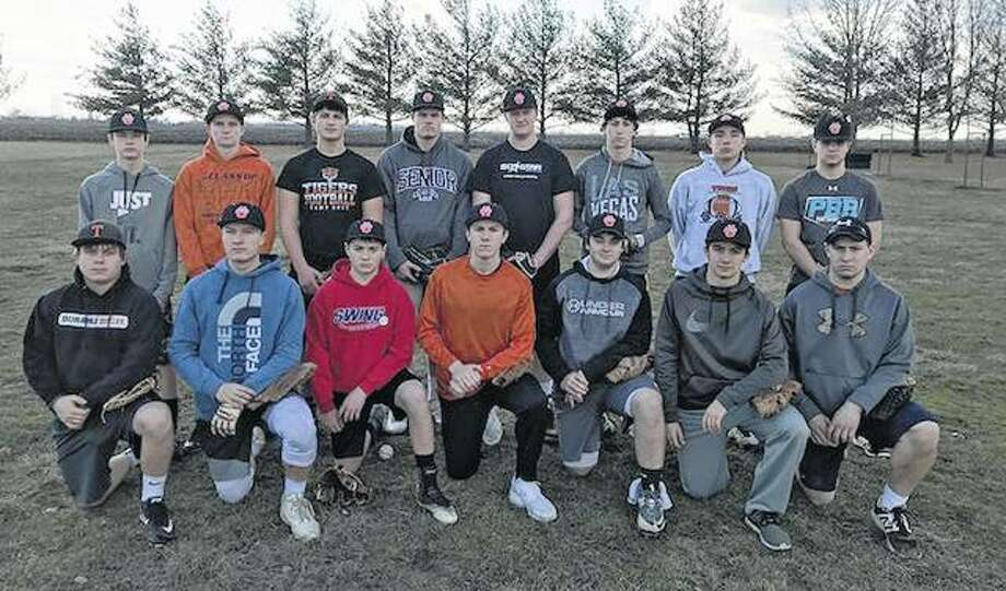 Greenfield-Northwestern — First row (l-r): Devin Chaudoin, Blake Meyer, Gavin Roberts, Josh Bone, Hayden Lansaw, Zane Thomson and Matt Walker. Second row: Clayton Woods, Blake Woelfel, Charlie Turner, Garrett Hunt, Dylan Moore, Wade Stuart, Dylan Pohlman and Jacob Lansaw. Not pictured: Robbie Kerr.