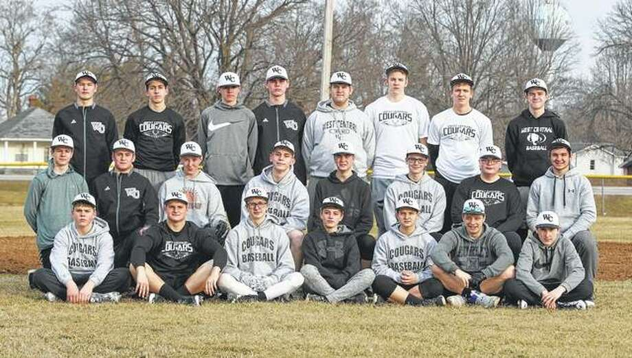 West Central — First row (l-r): Noah Smith, Logan Dobson, Josh Hamilton, Coby Zimmerman, Ryan Frost, Skylar Whicker and Eli Crews. Second row: Lucas Coultas, Braden McLaughlin, Dylan Fox, Blake Clayton, Wesley Hughes, Grant Frost, Gabe Drake and Adam Ratliff. Third row: Connor Schroeder, Gabe Cox, Drew Evans, Aaron Brown, Allen Frost, EJ Korte, Hunter Drake and Landon Hart.