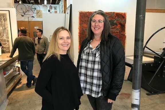 Dava Guthmiller, left, and Arianna Orland.