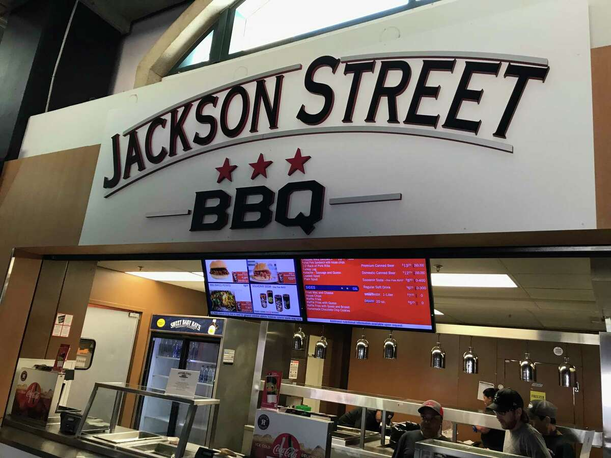 Jackson Street BBQ has a new concession at Minute Maid Park on the Concourse Level, Section 124.