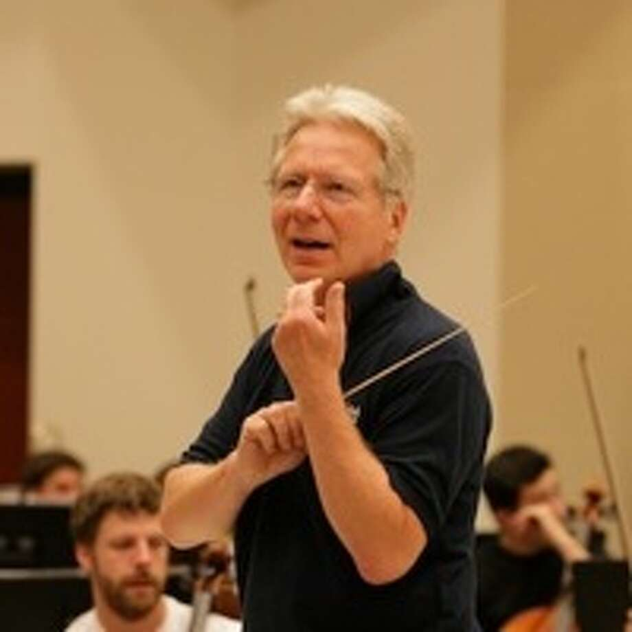 Rehearsing Mahler with UNCSA Symphony Orchestra, Spring 2010